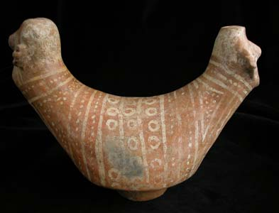 Nayarit Double Headed Vessel