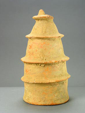 Inland Niger Delta Terracotta Conical Sculpture