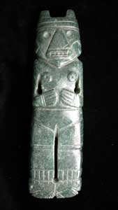Atlantic Watershed Jade Female Figure-Celt