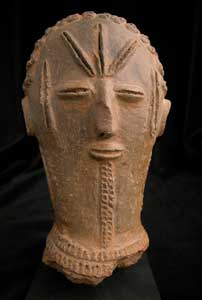 Bura Terracotta Sculpture of a Head