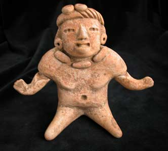 Mayan Figure with Articulated Arms