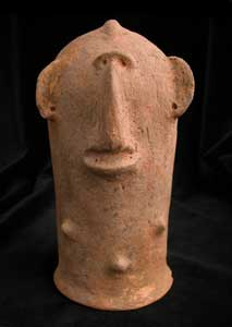 Bura Terracotta Sculpture of a Bust