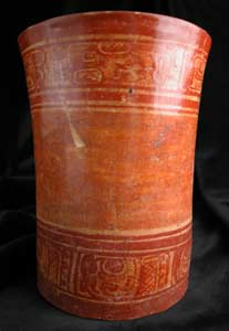 Mayan Cylindrical Vessel