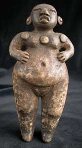 Mayan Terracotta Fertility Sculpture