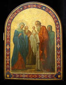 The Presentation of the Christ Child in the Temple
