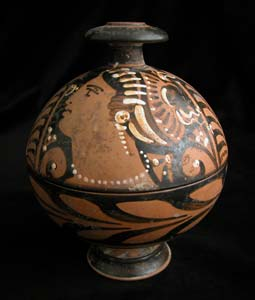 Apulian Red-Figure Pyxis