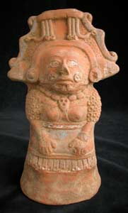 Mayan Female Figurine