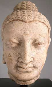 Gandharan Head of the Buddha