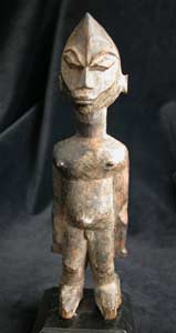 Lobi Wooden Bateba Sculpture of a Man
