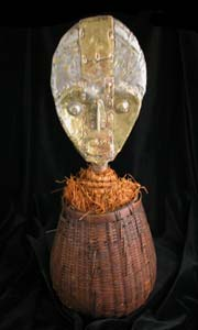 Kota Wicker Reliquary and Guardian Figure