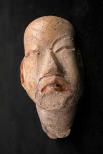 Olmec Sculptural Fragment of a Head
