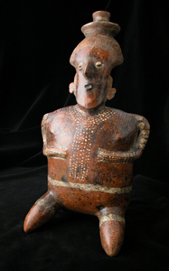 Nayarit Sculpture of a Kneeling Woman
