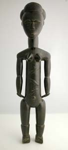 Attye Wooden Sculpture of a Female Ancestor