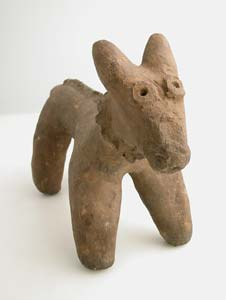 Sao Terracotta Zoomorphic Sculpture