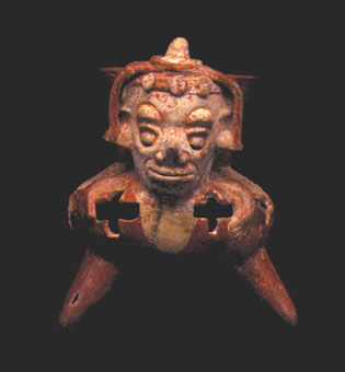 Mayan Incense Burner