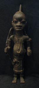 Ife/Benin Style Sculpture of an Oba