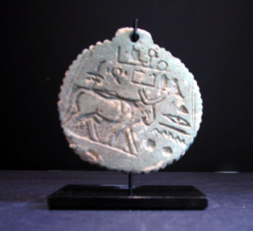 Egyptian Faience Amulet
