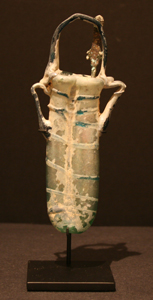 Late Roman Glass Unguentarium