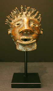 Akan Bronze Mask