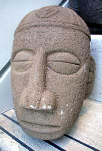 Atlantic Watershed Basalt Trophy Head