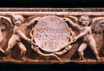 Roman Marble Sarcophagus of a Child