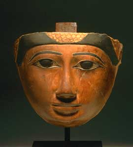 Late Dynastic Period Wooden Mask