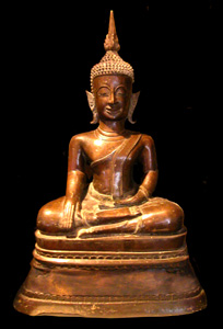 Shan Bronze Sculpture of the Buddha