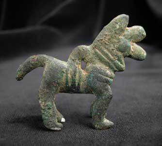 Luristan Bronze Amulet of a Horse